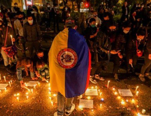 COLOMBIA  SCIOPERO NAZIONALE DECINE DI MORTI E DESAPERECIDOS